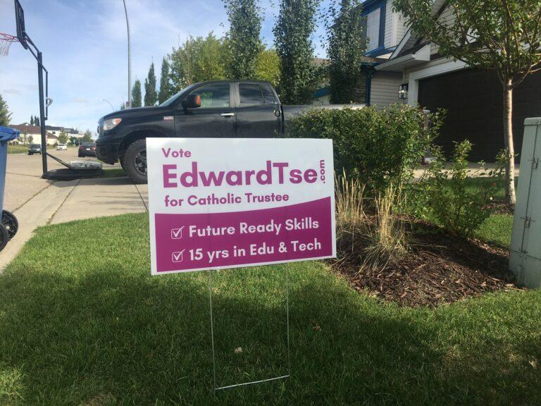 Edward Tse Lawn Signs